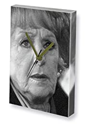 BARBARA KNOX - Canvas Clock (LARGE A3 - Signed by the Artist) #js001