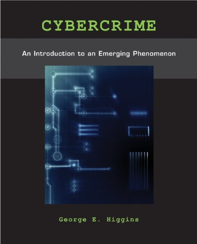 Cybercrime: An Introduction to an Emerging Phenomenon