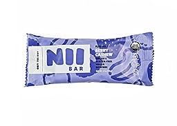 Nii Bar Berry Cashew - Organic Nutrition Bar, Vegan, Gluten-Free, Non-GMO, 1.8 oz (12 Pack) by Nii Foods