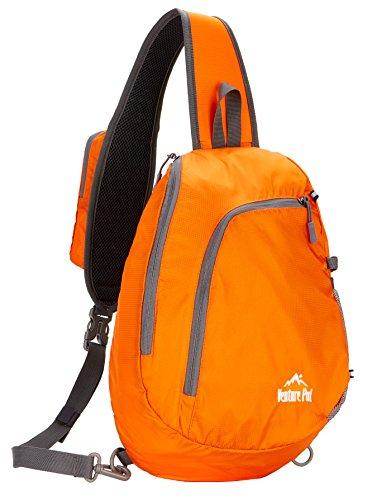 Venture Pal Sling Shoulder Crossbody Bag Lightweight Hiking Travel Backpack Daypack for Men Women