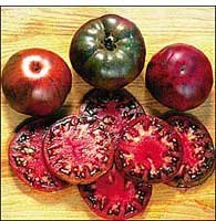 Baker Creek Heirloom Seeds Rareseeds.com 0662 Open-pollinated Tomato Seeds, Black Krim, 50 Seed Packet (Discontinued by Manufacturer)