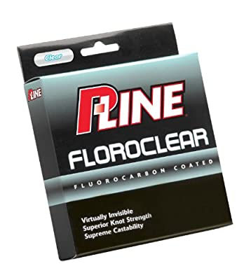P-line Clear 300 Yard Floroclear Fishing Line from P-Line