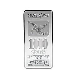 Joyalukkas BIS Hallmarked 1000 grams 999 Silver Bar