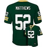 Clay Matthews Green Bay Packers Green NFL Youth 2015-16 Season Mid-tier Jersey