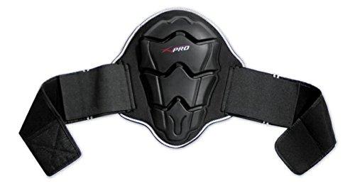 Paraschiena-Protezione-Lombare-Omologato-Livello-2-Moto-Sci-Scooter-Touring-Nero