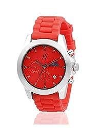 Yepme Mens Chronograph Watch - Red_YPMWATCH2030