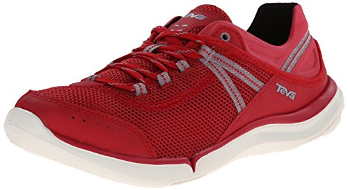 Teva Women's Evo Water Shoe, Red, 9 M US