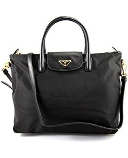 Prada BN2541 Tessuto \u0026amp; Saffiano Tote: Handbags: Amazon.com