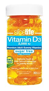Slice Of Life Vitamin D3, Sugar Free, 30 Count