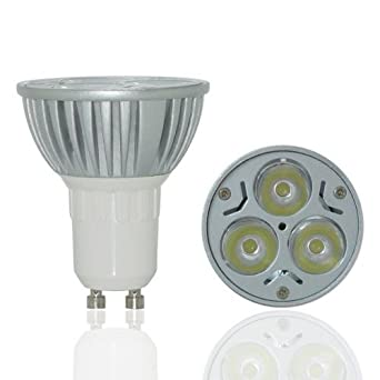 Top Max 4w Gu10 280lm 220v 30d Dimmable Led Energy Saving Bulbs Day White 6000k High Power
