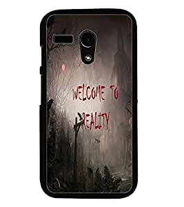 PrintDhaba Quote D-3188 Back Case Cover for MOTOROLA MOTO G (Multi-Coloured)