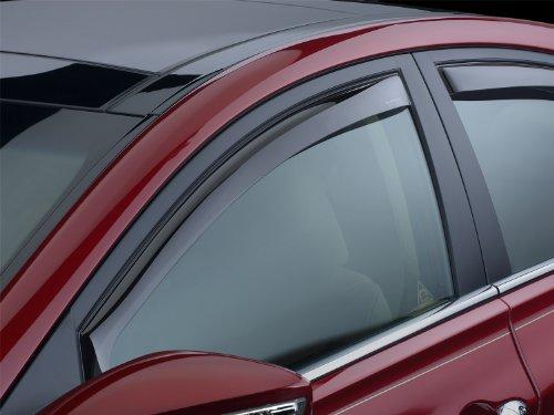 WeatherTech 80556 Side Window Deflector, Front 4pcs set smoke sun rain visor vent window deflector shield guard shade for hyundai tucson 2016