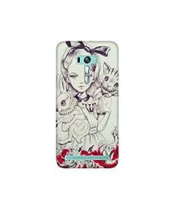 Kolor Edge Printed Back Cover for Asus Zenfone Selfie - Multicolor (4400-Ke11173ZenSelfieSub)