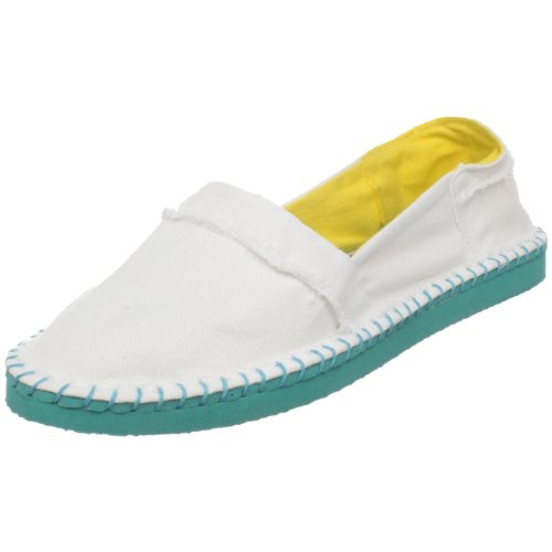 Rocket Dog Women's Bounce Flat,White,8 M US