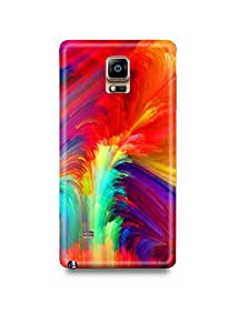 Colorful Pattern Samsung Note 4 Case