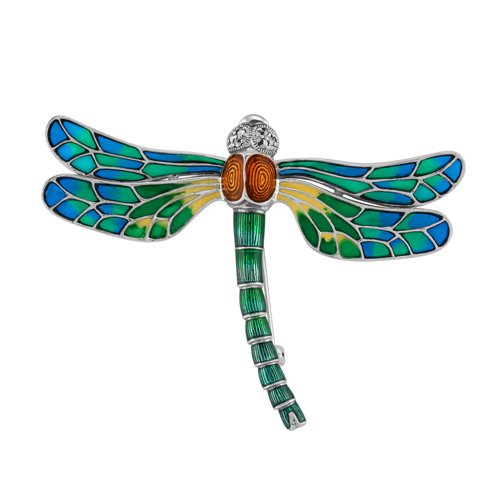 925 Sterling Dragonfly Brooch
