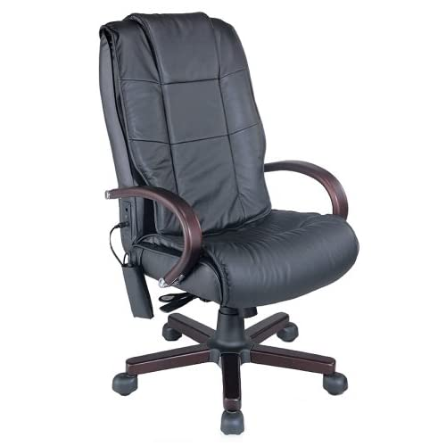 King Kong USA The Chairman Deluxe Memory Foam Office Massage Chair