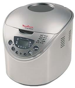 Moulinex OW300001 Machine à Pain Homebread Inox
