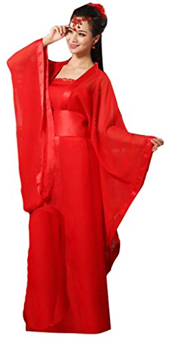 Chinese Ancient Stage Costumes Women's Dress Halloween Cosplay HanFu