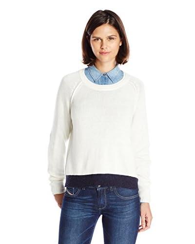 Splendid Women's Cashmere Blend Colorblock Sweater