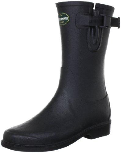 Le Chameau Women's Low Boot Cavalier Black Wellington Boot BCB1846 4 UK