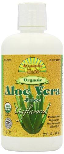 海外直送肘 Organic Aloe Vera Juice, Unflavored 32OZ