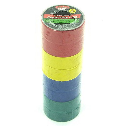 100 Colored Electrical Tape