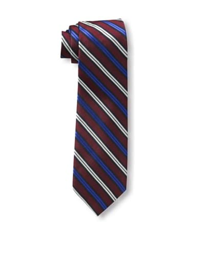 Ben Sherman Men's Plymouth Stripe Tie, Red