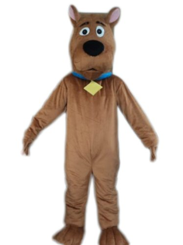 MaxCos Scooby Doo Dog Adult Size Mascot Costume