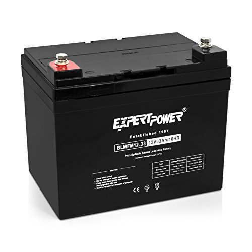ExpertPower 12v 33ah Rechargeable Deep Cycle Battery [EXP12330] Replaces 34Ah, 35Ah, 36Ah (Battery 12v Deep Cycle compare prices)