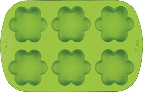 Wilton Mini 6 Cavity Flower Silicone Mold