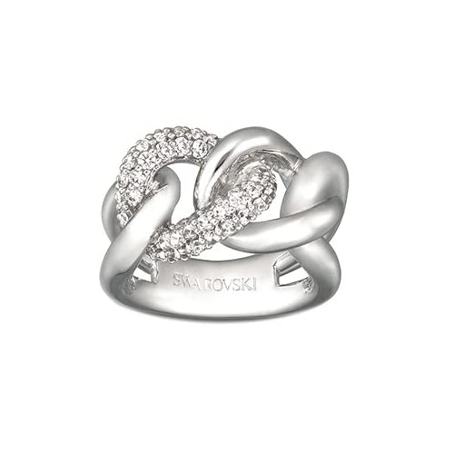 Amazon.com: Swarovski Crystal Manhattan Ring - 7: Jewelry