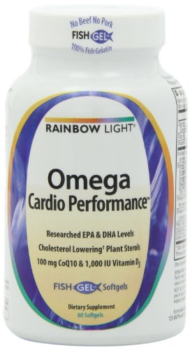 Rainbow Light Omega Cardio Performance Vitamins, 60 Count