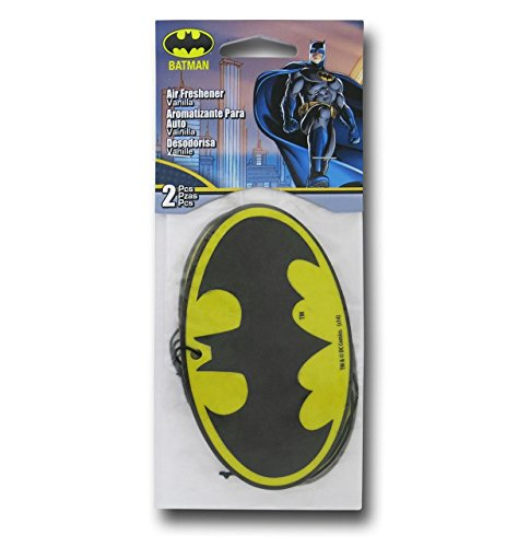 Batman Air Freshener 2-Pack (Yellow Air Freshener compare prices)