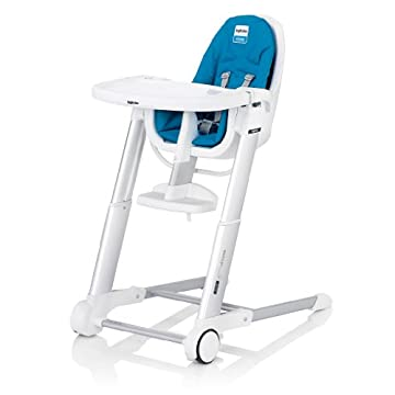 Inglesina 2013 Zuma Highchair, White/Light Blue