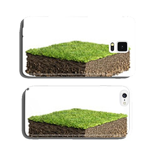 grass and soil profile cell phone cover case iPhone5 (Profile Soil compare prices)
