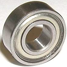 WOB81ZZX Miniature Shielded Bearing 316quotx516quotx18quot inch