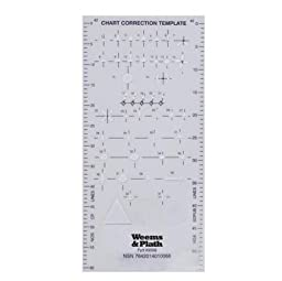 Weems & Plath 9998 Chart Correction Template