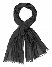Per Una Metallic Effect Textured Scarf