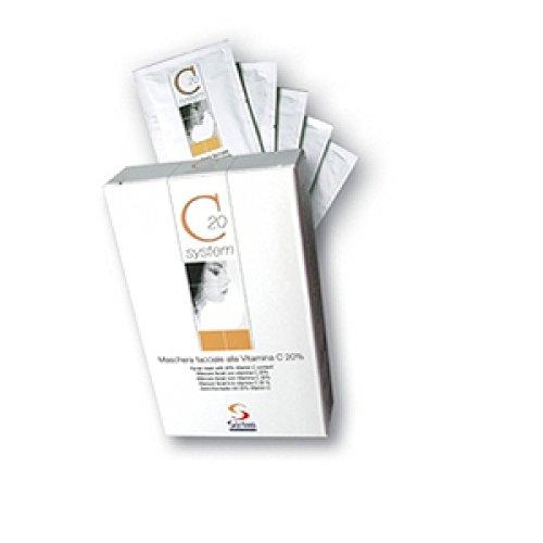 Maschera Per Il Viso Alla Vitamina C Ad Azione Antiossidante C20 System Box Formato Da 5 Buste