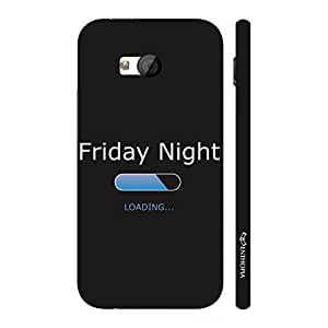 Enthopia Designer Hardshell Case Weekend'S Here Back Cover for HTC One M7