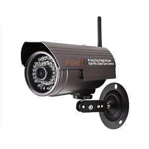 e0037780110 Zmodo CM-I12316GY Night Vision Wireless IP Network Surveillance Security  Camera