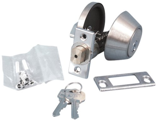 "Valterra L32CS3008 5/8"" Throw Single Cylinder Deadbolt (Viewpack)"