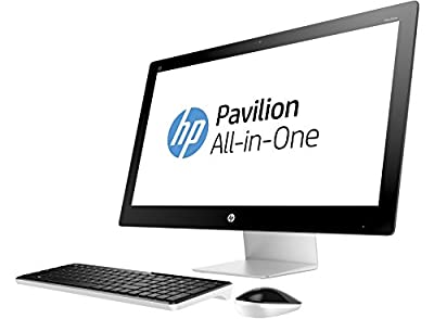 "HP Pavilion 27-n141 Signature Edition All-in-One Desktop PC - 27"" Full HD Touchscreen, Intel i7-6700T (Skylake), 16GB RAM, 2TB HDD, Intel HD Graphics 530, Optical Drive, Windows 10 - White"
