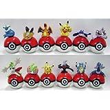 Pokemon: Pokemon on Pokeball Figure Set of 12