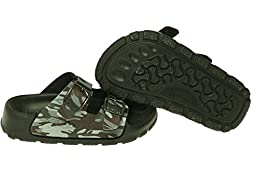 Birki\'s Toddler/Little Kid Haiti Open Back Sandal,Camouflage Black,24 N EU (US Toddler 6 N)