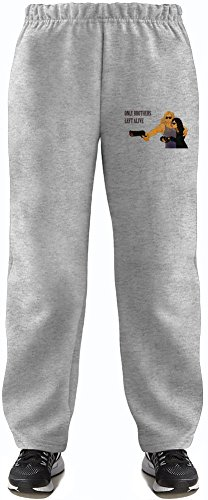 Only lovers left alivesd Super Soft Kids Lightweight Jog Pants by True Fans Apparel - 80% Organic, Hypoallergenic Cotton & 20% Polyester - Casual & Sports Wear - Perfect Present 5-6 years