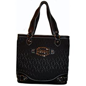 Women's Xoxo Purse Handbag Tote Country Club Signature Logo