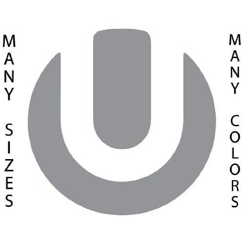 ... High - Grey - Ultra Music Festival Logo Self Adhesive Vinyl Decal