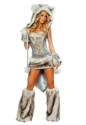 Hairy Timber Wolf Costume